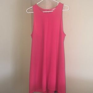 Pink summer dress WITH POCKETS!!